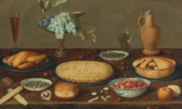Still Life with Pies (17th c)